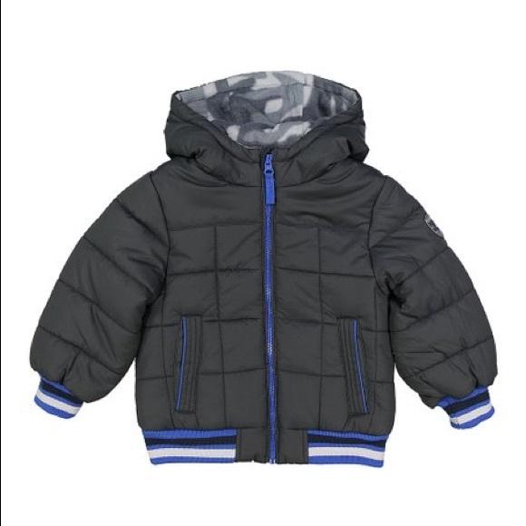 Osh Kosh B/'gosh Boys Red /& Gray Snowsuit Size 4 5//6 7